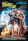 "Movie Posters:Science Fiction, Back to the Future Part III (Universal, 1990). One Sheet (26.75"" X39.75"") DS Advance, Drew Struzan Artwork. Science Fiction..."