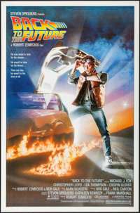 "Back to the Future (Universal, 1985). One Sheet (27"" X 41"") Drew Struzan Artwork. Science Fiction"