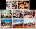 "Movie Posters:Action, The Conqueror (RKO, 1956). Color Photos (11) & Photos (5) (8"" X 10""). Action.. ... (Total: 16 Items)"