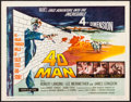 "Movie Posters:Science Fiction, 4D Man (Universal International, 1959). Title Lobby Card (11"" X 14""). Science Fiction.. ..."