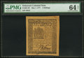 Colonial Notes:Delaware, Delaware May 1, 1777 4s PMG Choice Uncirculated 64 Net.. ...