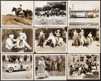 """The Terror of Tiny Town (Columbia, 1937). Photos (9) (Approximately 8"""" X 10""""). Western. ... (Total: 9 Items)"""