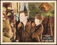 "The War Horse (Fox, 1927). Lobby Card (11"" X 14""). Western"