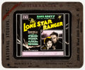 "Movie Posters:Western, The Lone Star Ranger (Fox, 1930). Glass Slides (2 Styles) (3.25"" X 4""). Western.. ... (Total: 2 Items)"