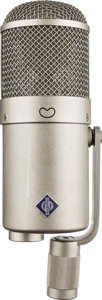 Musical Instruments:Miscellaneous, Circa 1970's Neumann U-47 Gray Condenser Microphone, Serial # 3575....