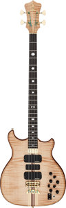 Musical Instruments:Bass Guitars, 2000 Alembic Series II Natural Electric Bass Guitar, Serial # 99 12236 USA....