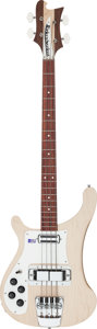 Musical Instruments:Bass Guitars, 2004 Rickenbacker 4001C64S Mapleglo Left-Handed Electric BassGuitar, Serial # 04 40917....