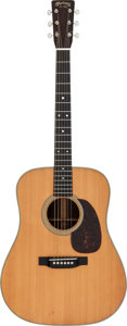 Musical Instruments:Acoustic Guitars, 1947 Martin D-28 Natural Acoustic Guitar, Serial # 101876....