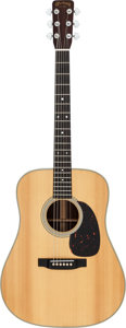 Musical Instruments:Acoustic Guitars, 1965 Martin D-28 Natural Acoustic Guitar, Serial # 203262....