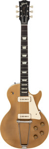Musical Instruments:Electric Guitars, 1952 Gibson Les Paul Standard Goldtop Solid Body Electric Guitar,Serial # N/A....