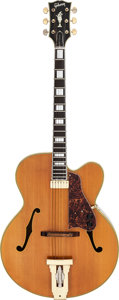 Musical Instruments:Electric Guitars, 1968 Gibson L5 Natural Archtop Electric Guitar, Serial # 521624....