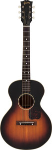 Musical Instruments:Acoustic Guitars, 1954 Gibson LG-2 3/4 Sunburst Acoustic Guitar, Serial #X7294-2.5....