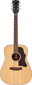 Musical Instruments:Acoustic Guitars, 1977 Gibson J-45/50 Natural Acoustic Guitar, Serial # 06151343....