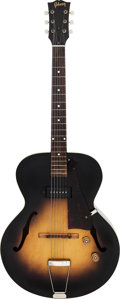 Musical Instruments:Electric Guitars, 1953 Gibson ES-125 Sunburst Archtop Electric Guitar, Serial # Y 40121....