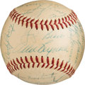 Autographs:Baseballs, 1954 New York Yankees Signed Team Baseball From the Moose Skowron Collection.. ...