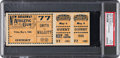 "Boxing Collectibles:Memorabilia, 1900 ""Mysterious Billy"" Smith vs. ""Barbados Joe"" Walcott Full Ticket, PSA VG-EX 4.. ..."