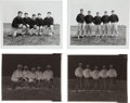 Football Collectibles:Photos, 1959 Vince Lombardi & Green Packers Coaching Staff Acetate Negatives with Photographs Lot of 4 Total. . ...