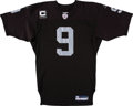 Football Collectibles:Uniforms, 2007 Shane Lechler Game Worn Oakland Raiders Jersey with NFL Auction Certificate. . ...