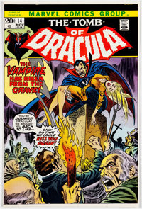 Gil Kane and Frank Giacoia Tomb of Dracula #14 Approval Proof for Cover (Marvel Comics, 1973)