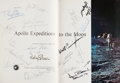 Explorers, Apollo Expeditions to the Moon Book Signed by Richard Nixon and Eighteen Apollo Astronauts, including Neil Armstrong a...