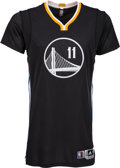"Basketball Collectibles:Uniforms, 2014 Klay Thompson Game Worn Golden State Warriors ""SlateAlternate"" Jersey.. ..."