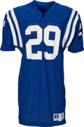 Football Collectibles:Uniforms, 1987 Eric Dickerson Game Worn & Signed Indianapolis Colts Jersey.. ...
