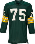 Football Collectibles:Uniforms, 1960's Forrest Gregg Game Worn & Signed Green Bay Packers Jersey.. ...