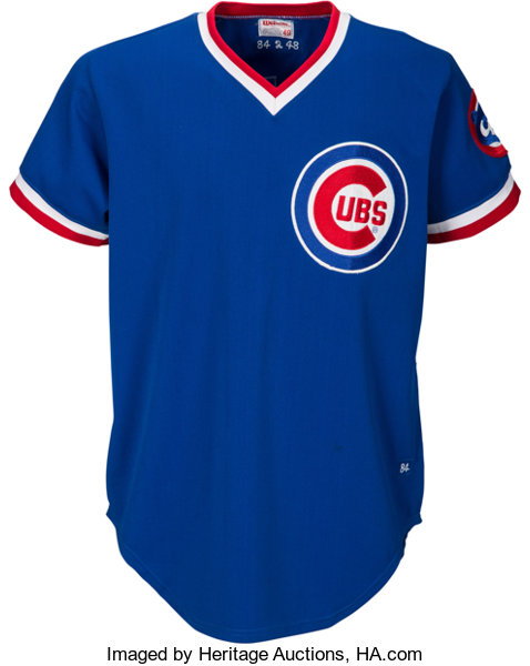 new concept cc1d5 8967f 1984 Rick Sutcliffe Game Worn Chicago Cubs Jersey - Cy Young ...