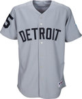 Baseball Collectibles:Uniforms, 2006 Justin Verlander Rookie Year Game Worn Detroit Tigers Turn Back the Clock Jersey MLB Authentic. . ...