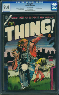 The Thing! #16 (Charlton, 1954) CGC NM 9.4 OFF-WHITE pages
