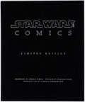 Memorabilia:Science Fiction, Star Wars Art: Comics Limited Edition Hardcover #306/500 (Abrams Books, 2011)....