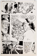 Original Comic Art:Panel Pages, Tenny Henson Secrets of Haunted House #29 Story Page 6Original Art (DC, 1980)....