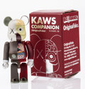 Fine Art - Sculpture, American:Contemporary (1950 to present), KAWS X BE@RBRICK. Dissected Companion 100%, 2008. Paintedcast vinyl. 2-3/4 x 1-1/2 x 1 inches (7.0 x 3.8 x 2.5 cm). Edi...