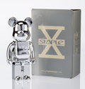 Fine Art - Sculpture, American:Contemporary (1950 to present), BE@RBRICK X Staple Design. 10th Anniversary 400%, 2007.Painted cast resin. 10-3/4 x 4-1/2 x 3-1/2 inches (27.3 x 11.4 x...