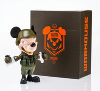 Clogtwo (Singapore, 21st Century) War Mouse (OG), 2016 Painted cast vinyl 10-1/4 x 9 x 5 inches (