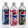 Fine Art - Sculpture, American:Contemporary (1950 to present), BAPE X Pepsi. Set of Three Pepsi Bottles, circa 2002.Aluminum bottles in colors. 7-3/4 x 2-3/8 x 2-3/8 inches (19.7 x6... (Total: 3 Items)