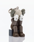 Fine Art - Sculpture, American:Contemporary (1950 to present), KAWS (American, b. 1974). Companion Passing Through (Brown),keychain, 2013. Painted cast vinyl. 2 x 1-1/2 x 1-1/2 inche...