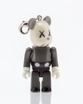 Fine Art - Sculpture, American:Contemporary (1950 to present), KAWS X BE@RBRICK. Companion 70%, keychain, 2011. Paintedcast resin. 2 x 1-1/2 x 1 inches (5.1 x 3.8 x 2.5 cm). Stamped ...