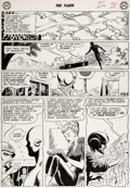 Original Comic Art:Panel Pages, Carmine Infantino Flash #124 Story Page 7 Original Art (DC,1961)....