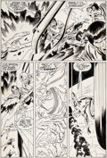 Original Comic Art:Panel Pages, John Buscema and Dan Adkins Silver Surfer #11 Story Page 16Original Art (Marvel, 1969)....