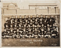 Football Collectibles:Photos, 1941 Chicago Bears Original Oversized Photograph by George Burke - NFL Championship Season!...