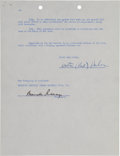 Autographs:Others, 1940-82 Brooklyn Dodgers & Los Angeles Dodgers SignedCorrespondence Lot of 23....
