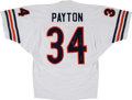 Football Collectibles:Uniforms, 1990's Walter Payton Signed Chicago Bears Jersey with Two Inscriptions. . ...
