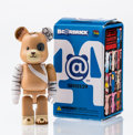 Fine Art - Sculpture, American:Contemporary (1950 to present), BE@RBRICK. Series 29- Animal 100%, 2014. Painted cast resin.2-3/4 x 1-1/4 x 0-1/2 inches (7.0 x 3.2 x 1.3 cm). Stamped ...