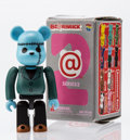Fine Art - Sculpture, American:Contemporary (1950 to present), BE@RBRICK. Series 2- Horror 100%, 2001. Painted cast resin. 2-3/4 x 1-1/4 x 0-1/2 inches (7.0 x 3.2 x 1.3 cm). Stamped o...