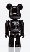 Collectible, BE@RBRICK X Stussy. World Tour 100%, 2006. Painted cast resin. 2-3/4 x 1-1/4 x 0-1/2 inches (7.0 x 3.2 x 1.3 cm). Stampe...