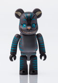 Fine Art - Sculpture, American:Contemporary (1950 to present), BE@RBRICK X Disney. Cheshire Cat 100%, 2010. Painted cast vinyl. 2-3/4 x 1-1/4 x 0-1/2 inches (7.0 x 3.2 x 1.3 cm). Stam...