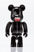 Collectible, BE@RBRICK. Series 15- Secret (Animal Black) 100%, 2007. Painted cast resin. 2-1/2 x 1-1/2 x 0-1/2 inches (6.4 x 3.8 x 1....