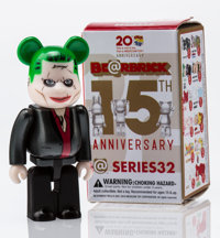 BE@RBRICK Series 32- Villain 100%, 2016 Painted cast resin 2-3/4 x 1-1/4 x 0-1/2 inches (7.0 x 3
