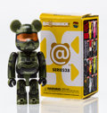Fine Art - Sculpture, American:Contemporary (1950 to present), BE@RBRICK. Series 28- Hero 100%, 2014. Painted cast resin.2-3/4 x 1-1/4 x 0-1/2 inches (7.0 x 3.2 x 1.3 cm). Stamped on...